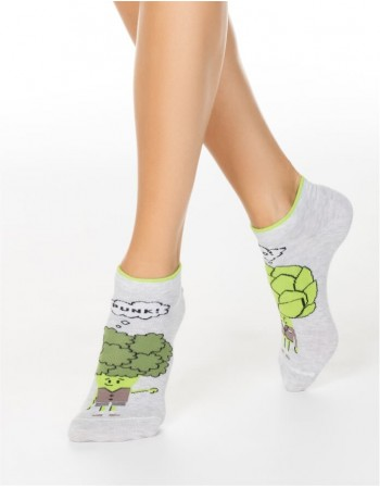 "Women's socks ""Vegetables"""