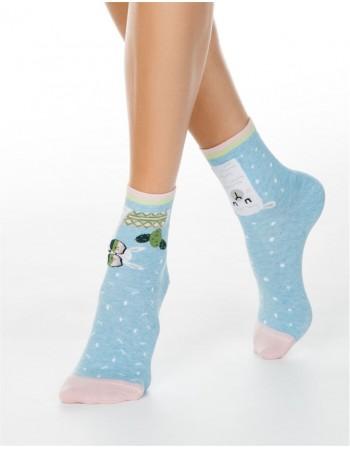 """Moteriškos kojinės """"Holly Jolly"""""""