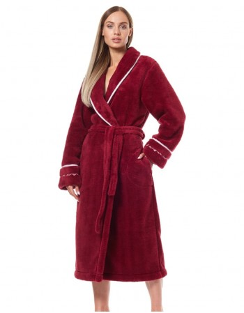 "Bathrobe ""Sweat Bordo"""