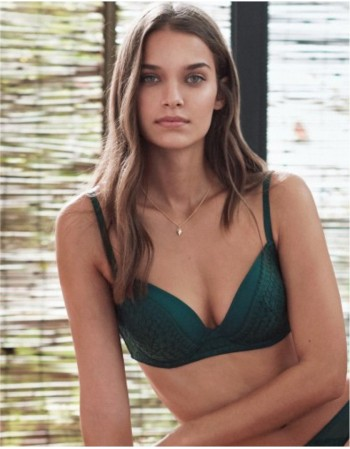 "Classic Bra ""Simple Jade"""
