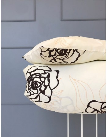 """Комплект постельного белья из сатина """"Deep flowers"""""""