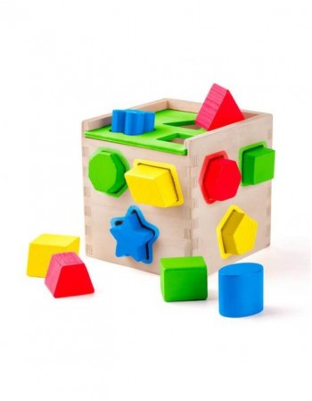 "Shape Sorting box ""Forms and Colours"""