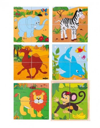 "Picture Cubes ""Safari"""