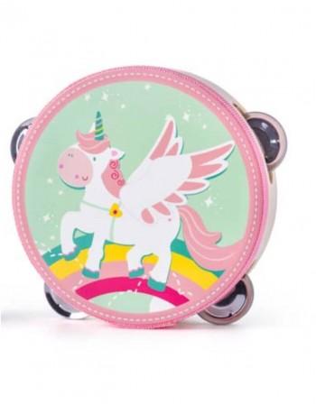 """Medinis muzikinis tamburinas """"Unicorn"""""""
