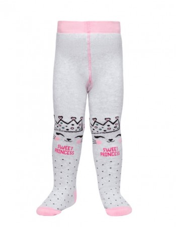 "Tights For Children ""Sweet princess grey"""