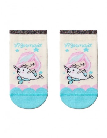 "Children's socks ""Pink Mermaid"""