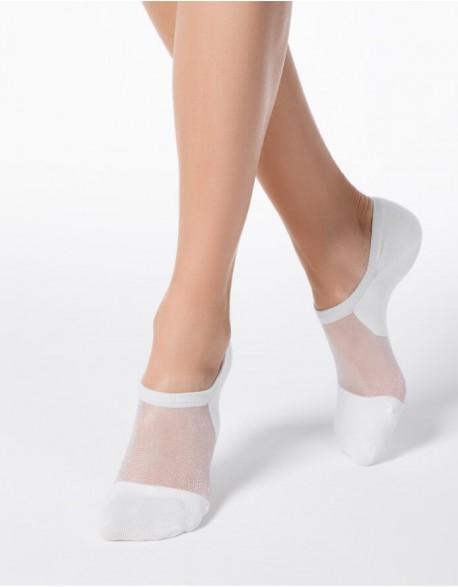 """Moteriškos kojinės """"Freedom White"""""""
