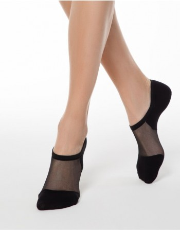 """Moteriškos kojinės """"Freedom Black"""""""