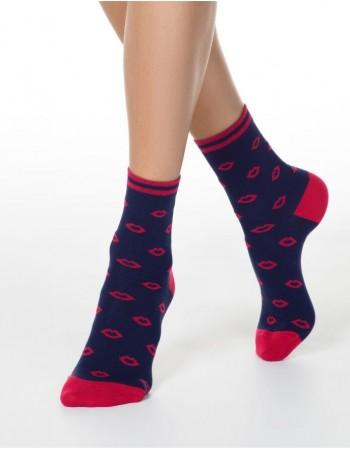 """Moteriškos kojinės """"Red Kiss"""""""
