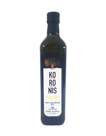 """Nerafinēta olīveļļa """"Koronis"""" 750Ml"""