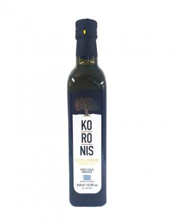 """Nerafinēta olīveļļa """"Koronis"""" 500Ml"""