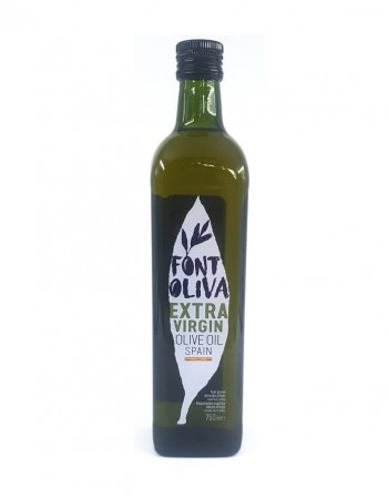 "Extra virgin olive oil ""Font Oliva"" 750 Ml"
