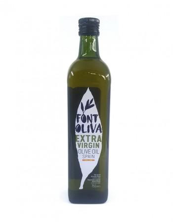 "Масло оливковое, экстра вирджин ""Font Oliva"", 750мл, стеклянная бутылка"