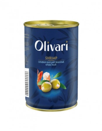"""Оливки фаршированные креветками """"Olivari"""", 300 г"""