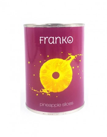 "Pineapples sliced ""Franko"", 580 ml"