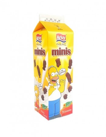 "Cookies ""Arluy"" The Simpsons cocoa flavor, 275g"