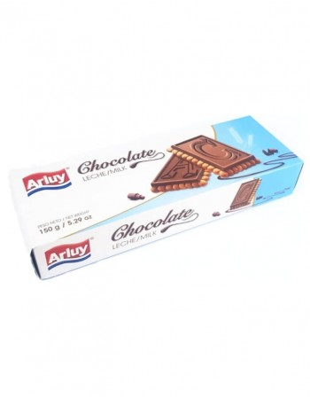 "Cookies ""Arluy"" Bombonettas with a bar of milk chocolate, 150g"