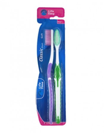 "Toothbrushes ""Life Time"" Classic soft brush, 2 psc"