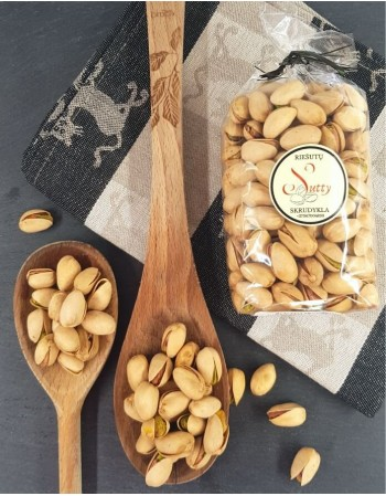 Šviežiai skrudinti pistacijų riešutai, 200g