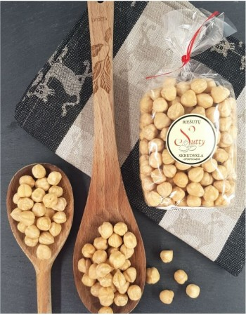 Fresh roasted hazelnuts, 200g