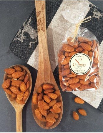 Fresh roasted almonds, 200g