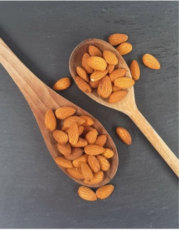 Unroasted almonds, 250g