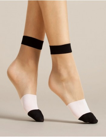 "Moteriškos kojinaitės ""Bicolore"" 15 Den"