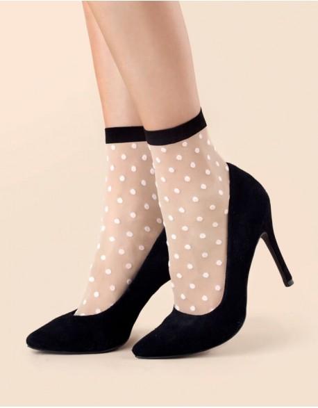 """Women's Socks """"Bubble Gum Linen"""" 20 Den"""