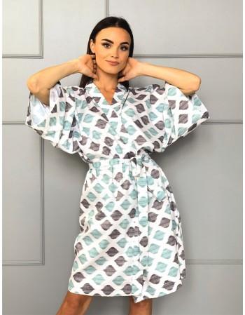 """Kimono from Satin """"Kovas"""""""