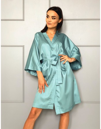 """Kimono from Satin """"Gaiva"""""""