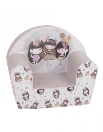 """Bērnu Atzveltnes Krēsls """"Trys princesės"""""""