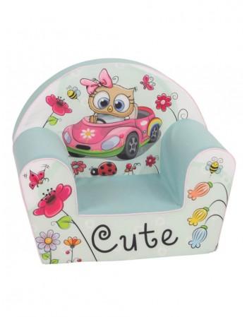 "Children's Armchair ""Katytė mašinytėje"""