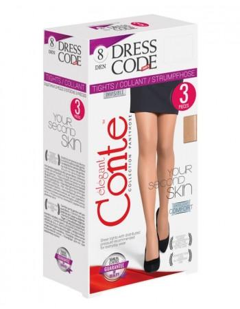 """Pėdkelnės """"Dress Code"""" 8 Den 3 vnt."""