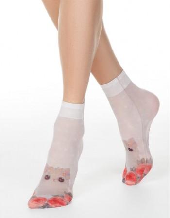 """Women's socks """"Sweet Kitten"""""""