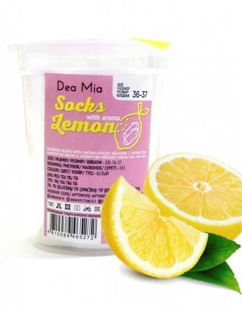 """Women's socks """"Dea Mia Lemon"""""""