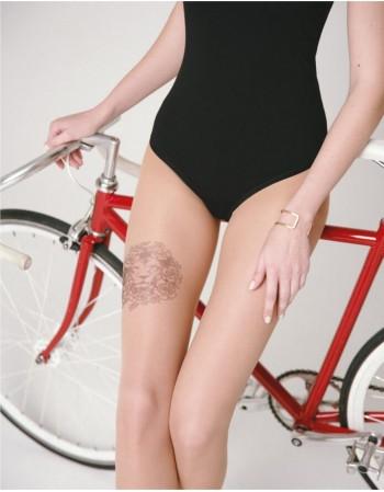 "Women's Tights ""Tattoo Leo"" 20 Den"