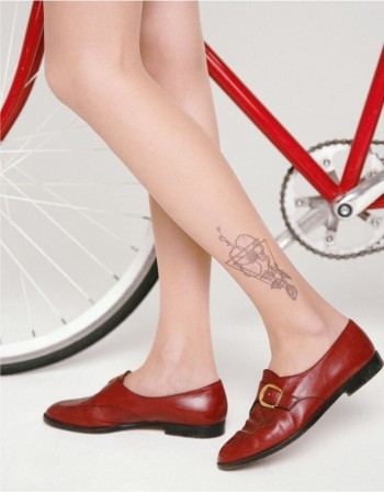 "Women's Tights ""Tattoo"" 20 Den"