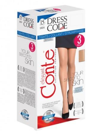 "Naiste retuusid ""Dress Code"" 15 Den 3 pcs"
