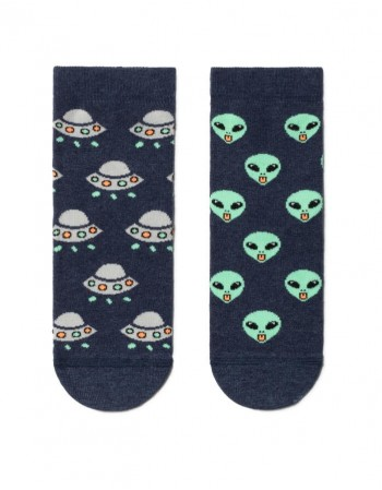 "Children's socks ""Aliens"""