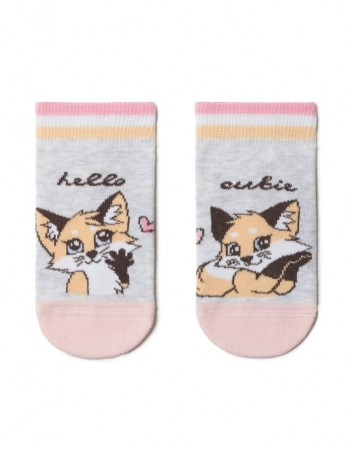 "Children's socks ""Hello Cutie"""