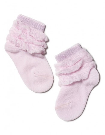 "Children's socks ""Nette pink"""