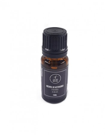 Cedarwood and vetiver essential oil, 10 ml