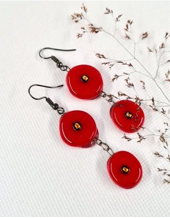 "Earrings ""Adonio aistra"""