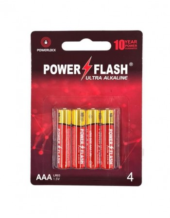 Patareid POWER FLASH AAA LR03 1,5V