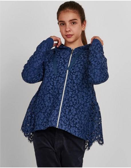 "Sweatshirt ""Blue Flowers"""