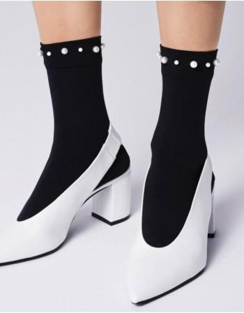 Women's socks ''Perla 60 Black''