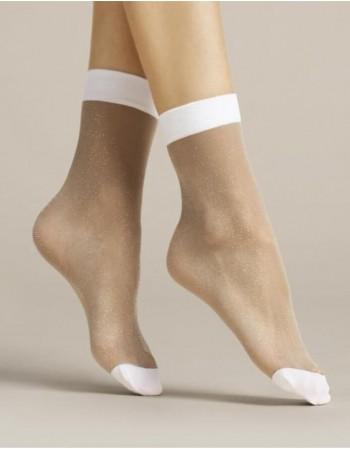 """Women's socks """"Bianco"""" 20 Den"""