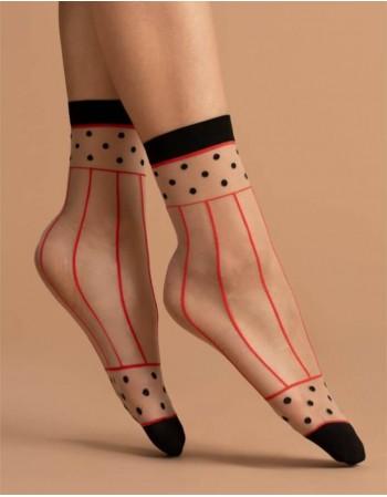 """Women's socks """"Spicy Red"""" 15 Den"""