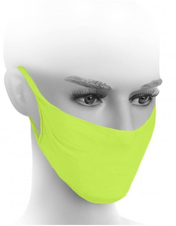 Protective face mask ''Neon Yellow''