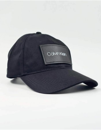Hat with a spout CALVIN KLEIN Patch BB Cap